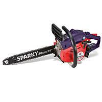 Бензопила Sparky TV 3540 бензиновая, 1,44 кВт/1,95л.с., шина 400 мм, антивибрационная система, 4,7 кг.