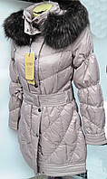 Куртка женская, пуховик оптом со склада в Одессе
