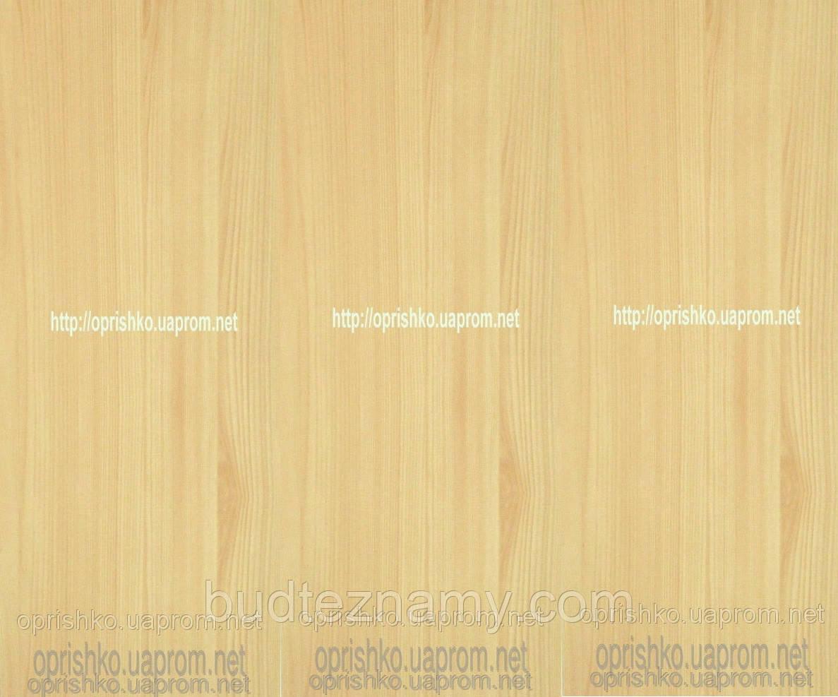 Панель пластиковая Сосна Светлая матовая 250х6000х4 мм.