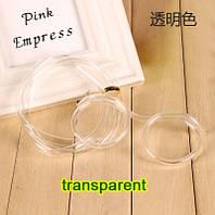 Забавная и веселая трубочка - очки для напитков, прозрачная