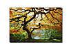 Светящиеся картины Startonight Дерево Клен Природа Пейзаж Печать на Холсте Декор стен Дизайн дома Интерьер