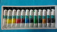 Набор акриловых красок для ногтей 12 шт