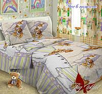 Детское постельное полуторное 150*215 Пес в пижаме