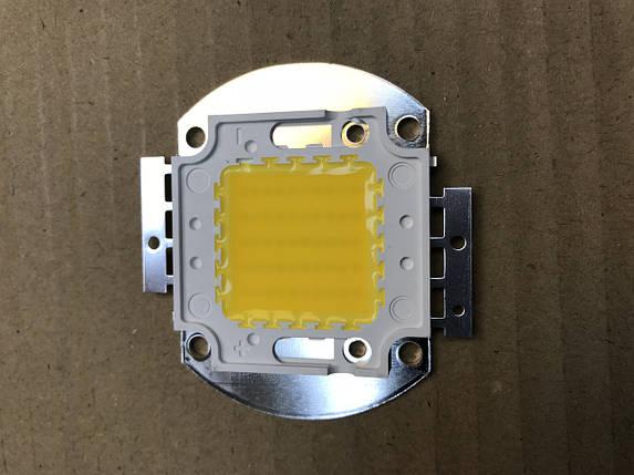 Светодиод матричный PREMIUM СОВ для прожектора SL-50 50W 3000К (45Х45 mil) Код.58816, фото 2
