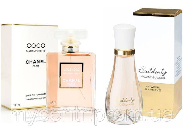 парфюмированная женская вода Suddenly Madame Glamour For Women Eau