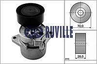 Планка натяжная MERCEDES (производитель Ruville) 55123