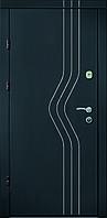 Входные двери Бастион-БЦ Премиум Венге темный МК1