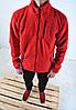 Флисовая кофта В стиле Columbia / кофта Коламбия красная