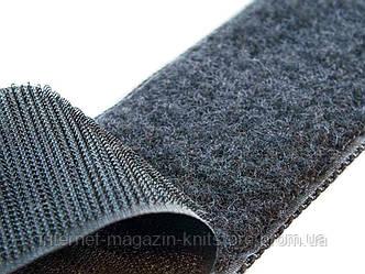 Текстильная застёжка 50мм черный
