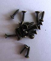 Шурупы старая латунь 2х8 (100грамм)