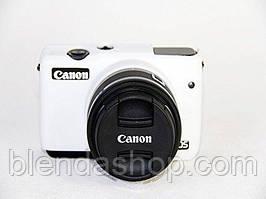 Защитный силиконовый чехол для фотоаппаратов CANON EOS M10 - белый
