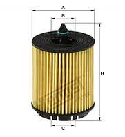 Фильтр масляный OPEL ASTRA (производитель Hengst) E630H02D103