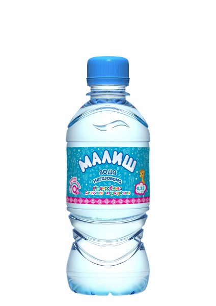 Детская вода Малыш  0,33 л
