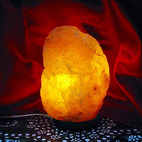 Соляная лампа Гималайская соль 1-3 кг