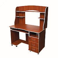 Комп'ютерний стіл «Ніка 10» з надбудовою купити недорого доставка , фото 1