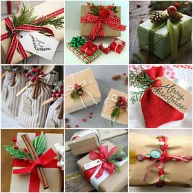 Подарочная упаковка, пакеты и мешочки для подарков