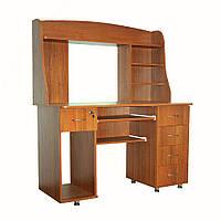 Комп'ютерний стіл «Ніка 11» з надбудовою купити недорого доставка , фото 1