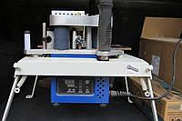 Ручной кромкооблицовочный станок б/у КМ-10 +кромкообрезной фрезер Вирутех с насадкой и фрезой