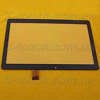 Тачскрин, сенсор DIGMA 1710T 4G, 10,1 дюймов, цвет черный.