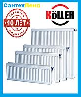 Стальной радиатор Koller 22k 500*1200 боковое подключение