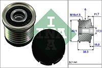 Механизм свободного хода генератора OPEL,RENAULT (производитель Ina) 535 0030 10