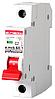 Модульный автоматический выключатель e.mcb.pro.60.1.C 2 new, 1р, 2А, C, 6кА