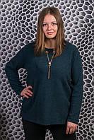 Женский теплый свитер. RBOSSI F05. Размер 58-60.