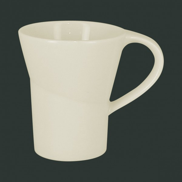 Чашка 90 мл. фарфоровая, белая espresso Giro, RAK