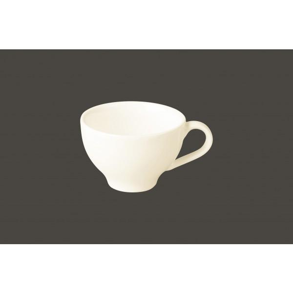 Чашка 90 мл. фарфоровая, белая espresso Lyra, RAK