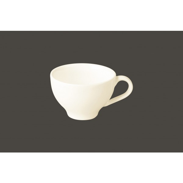 Чашка 270 мл. фарфоровая, белая Lyra, RAK