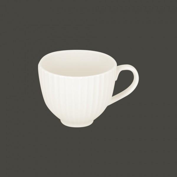 Чашка 350 мл. фарфоровая, белая Metropolis, RAK
