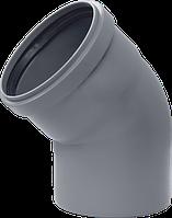 Колено 50х45° для внутренней канализации(ППР)