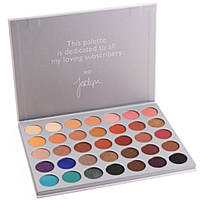 Тени для глаз Morphe THE JACLYN HILL EYESHADOW PALETTE (35 цетов)