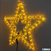 Светодиодная фигура Звезда DELUX MOTIF Star 54см IP44 Желтый