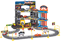 Игровой набор Dave Toy City Parking Парковка с лифтом и треком (32004)