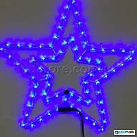 Светодиодная фигура Звезда DELUX MOTIF Star 54см IP44 Синий