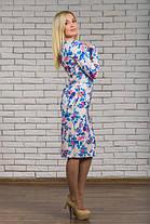 Трикотажное  платье  с цветочным рисунком, фото 2