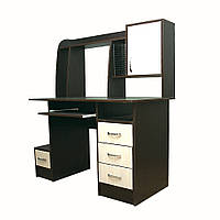 Комп'ютерний стіл «Ніка 12» з надбудовою купити недорого доставка