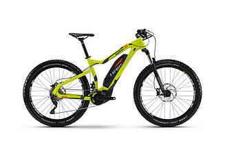 Электро-велосипед Haibike SDURO HardSeven 7.0 500Wh 2017, рама 48см, лайм