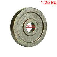 Млинці, диски для гантель і штанг 1,25 кг, фото 1