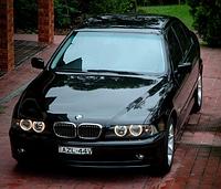 Решетка радиатора на BMW БМВ E39, хром