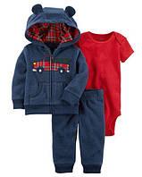 """Флисовый комплект одежды Carters """"Подарок для сыночка"""""""