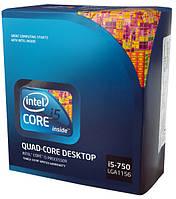 """Процессор Intel Core i5-750 2.66GHz/8MB/1333MHz S.1156 """"Over-Stock"""""""