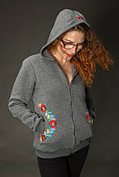 Жіночий светр Мрія темно-сірий