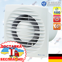 Вентилятор вытяжной настенно-потолочный Blauberg Bravo 100 (Блауберг Браво 100), фото 1