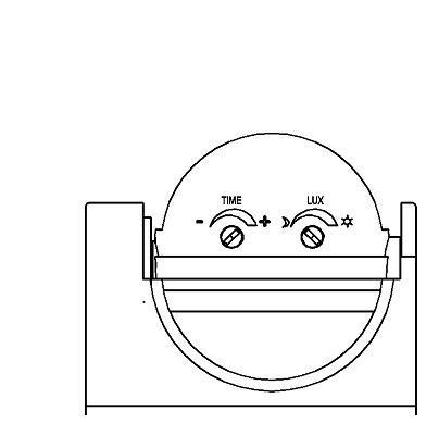 схема датчика движения LUX - контроль интенсивности света