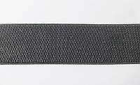Резинка  декоративная  6 см  темн. серый