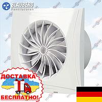 Бесшумный энергосберегающий вентилятор Blauberg Sileo 100/125/150 (опции таймер, реле влажности), фото 1