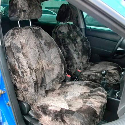 Автомобільні чохли з овчини на сидіння 077, фото 2
