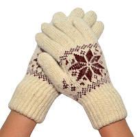 Женские зимние перчатки 08
